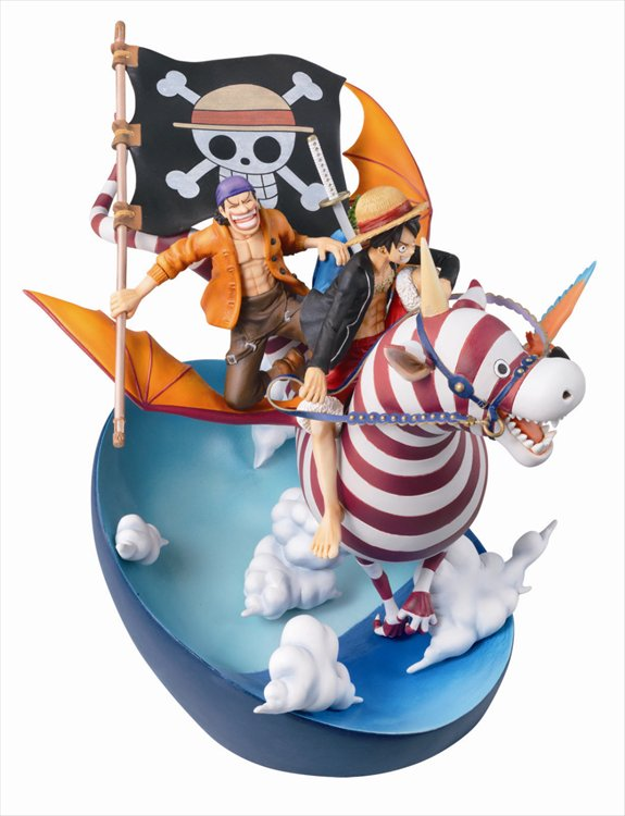 One Piece - Desktop Real McCoy 03 Mega House PVC Figure