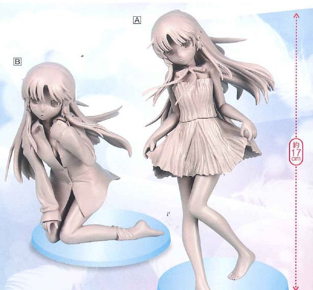 Angel Beats - Kanade One Piece Ver & Y Shirt Ver Prize Figures Set of 2