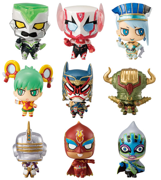 Tiger and Bunny - Chara Fortune Plus Wild Hero Fortune (Single Blind Box)
