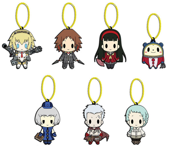 Persona 4 - The Ultimate In Mayonaka Arena D4 Rubber Keychain Collection Vol 2 Box