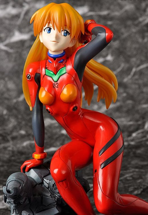 Evangelion The New Movie - 1/6 Asuka Langley Shikinami Plug Suit Ver PVC Figure Re-release