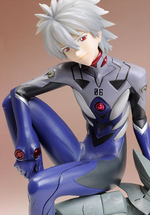 Evangelion The New Movie - 1/6 Kaworu Nagisa Plug Suit Ver PVC Figure Re-release