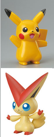 Pokemon - Modeling Figure Pikachu and Victini