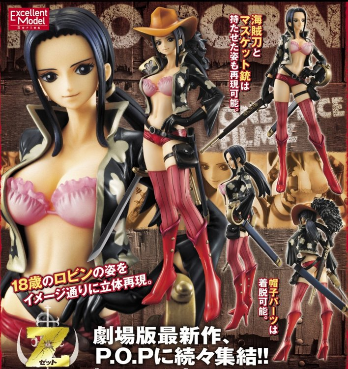 One Piece - 1/8 Nico Robin -Edition Z- Excellent Model Portrait of Pirates POP PVC Figure