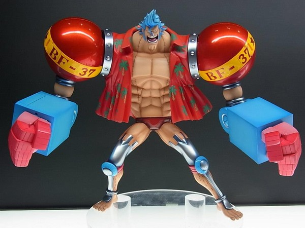 One Piece - 1/8 Franky Sailing Again Portrait of Pirates POP Excellent Model Neo-Maximum PVC Figure Limited