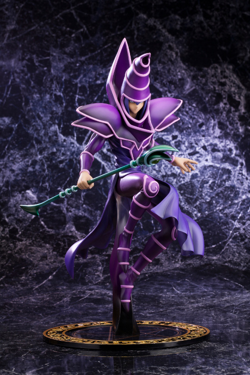 Yu Gi Oh - 1/7 Dark Magician -Duel with Destiny- ArtFxJ PVC Figure