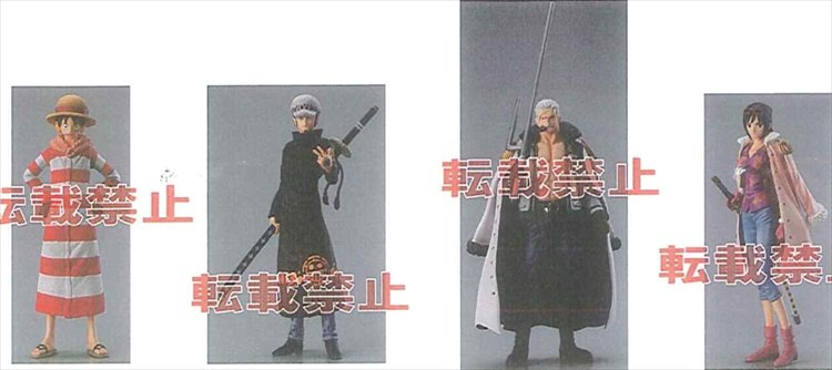 One Piece - Styling Punk Hazard Trading Figures Set of 5