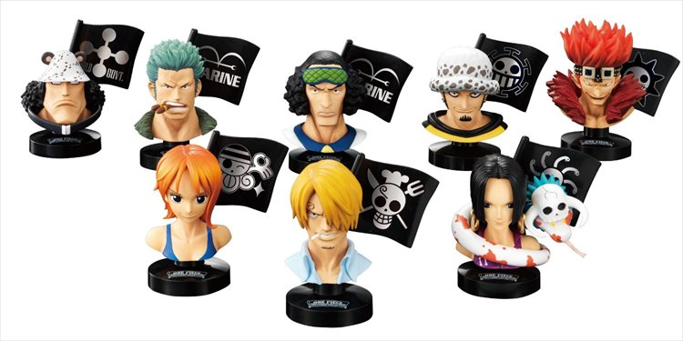 One Piece - Great Deep Collection 2 Trading Figures (Set of 6)