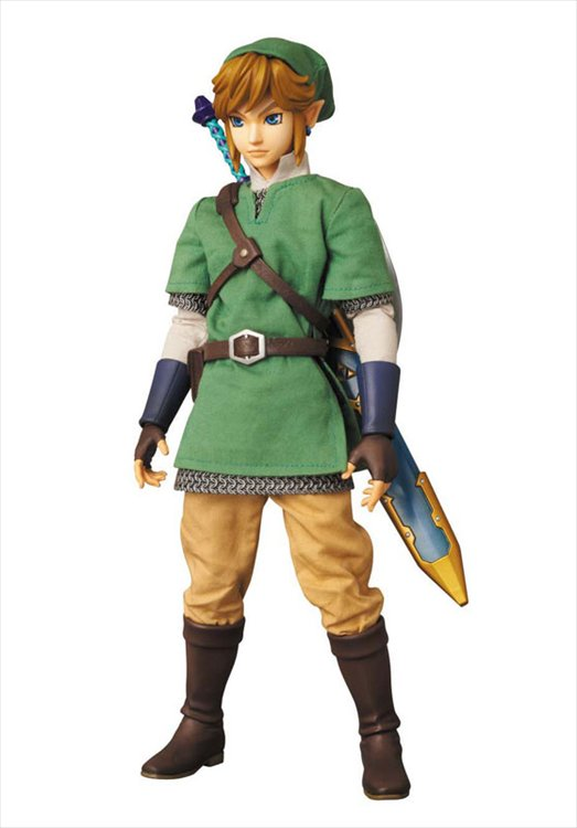The Legend of Zelda Skyward Sword - Link Real Action Heroes RAH No. 622 Action Figure
