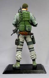 Resident Evil 6 - Chris Redfield CFB Creators Model PVC Figure