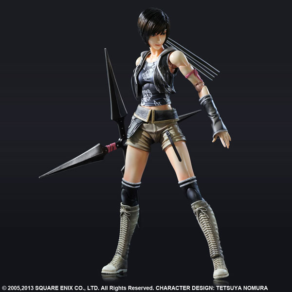 Final Fantasy VII Advent Children - Yuffie Kisaragi Play Arts Kai PVC Figure