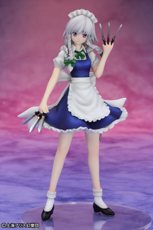 Touhou Project Mini Series - 1/10 Sakuya Izayoi Maid of the Scarlet Devil Mansion PVC Figure