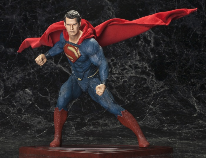 DC Comics - 1/6 Man of Steel Superman ArtFX Statue PVC Figure