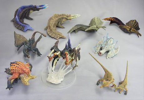 Monster Hunter - Figure Builder Standard Model Monster Hunter Vol. 8 Box Set of 9