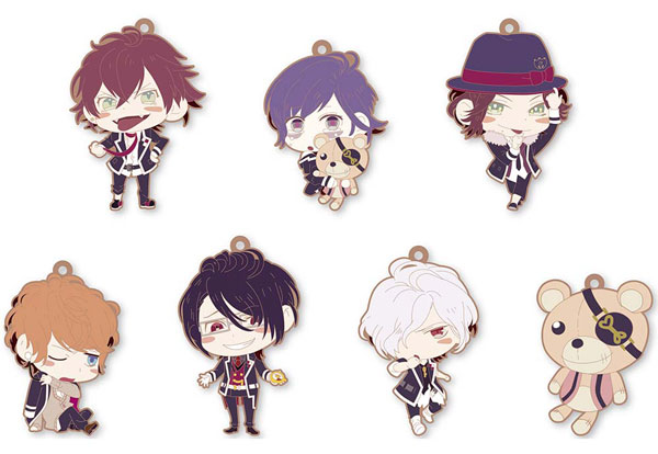 Diabolik Lovers - Trading Rubber Strap Set of 8