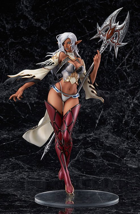 Lineage II - 1/7 Dark Elf Brown Skin Version PVC Figure