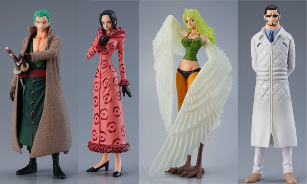 One Piece - Battle in the Laboratory Super Styling Trading Figures Set of 6