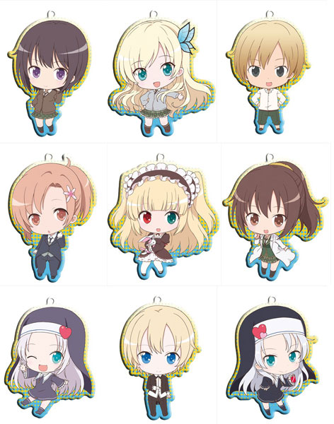 Boku wa Tomodachi ga Sukunai NEXT - Metal Charm Trading Strap Box Set of 10