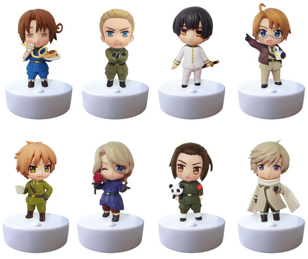Hetalia - Supicotto The Beautiful World Box Set of 8