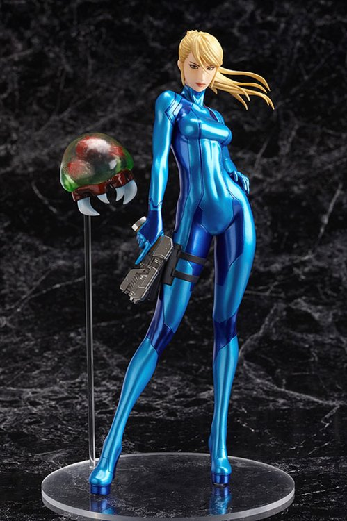 METROID Other M - 1/8 Samus Aran Zero Suit ver. PVC Figure Re-Release