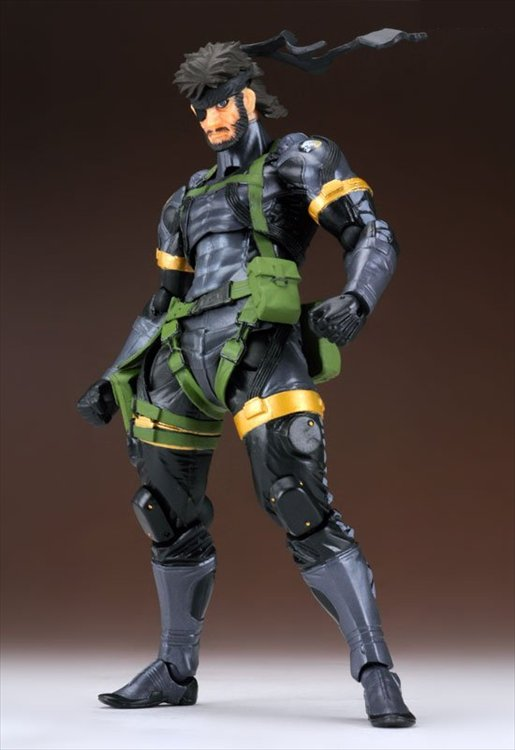 Metal Gear Solid Peacer Walker - Revoltech Yamaguchi Series No. 131 Peace Walker Snake Action Figure Re-Release
