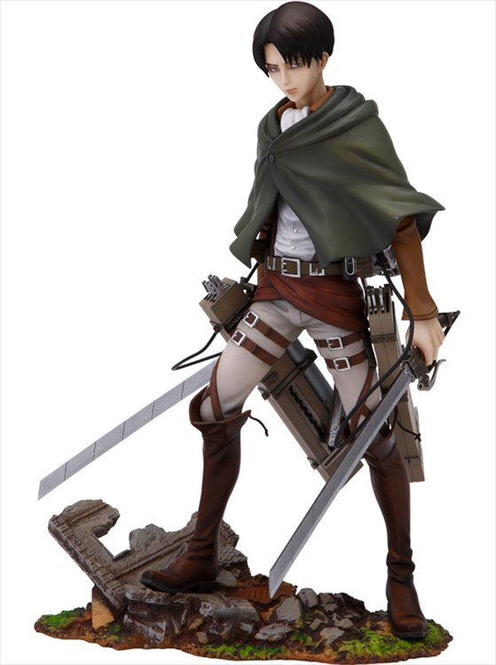 Attack on Titan - 1/8 Levi Brave Act PVC Figure
