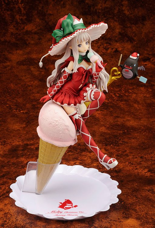 Shining Hearts - 1/8 Melty Christmas ver. PVC Figure