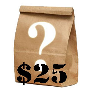 Mystery Bag - $25 Dollar Mystery Grab Bag Item