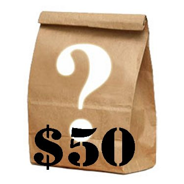 Mystery Bag - $50 Dollar Toys Logic Mystery Graby Bag