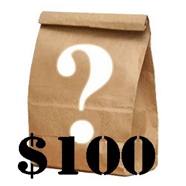 Mystery Bag - $100 Dollars Toys Logic Mystery Grab Bag