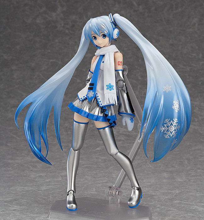 Vocaloid - figma Snow Miku WonderFest Limited PVC Figure