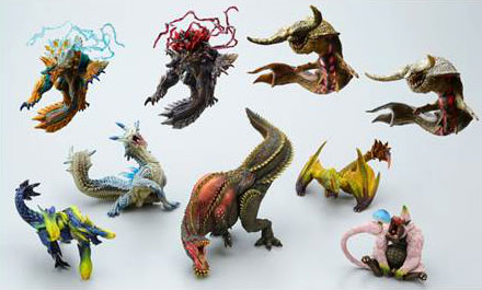 Monster Hunter - Figure Builder Standard Model Anger and Rage ver. 2 Set of 9