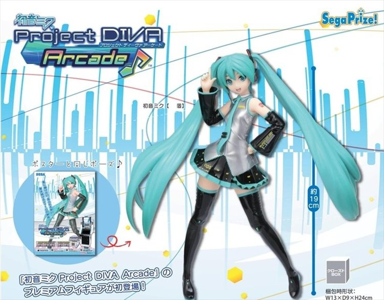 Vocaloid - Hatsune Miku Project DIVA Arcade PM Figure