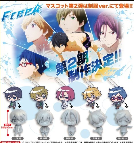 Free! - Deformed Character Mascots vol. 2 Set of 5