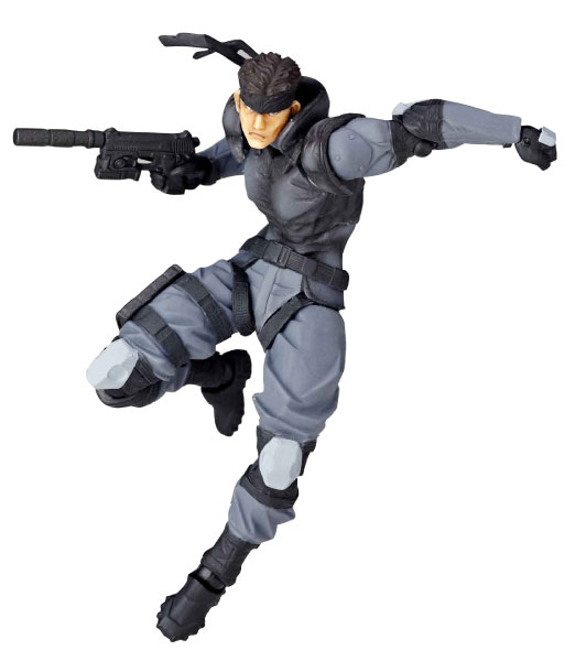 Metal Gear Solid - Solid Snake RM-001 Revoltech Mini Micro Yamaguchi Figure