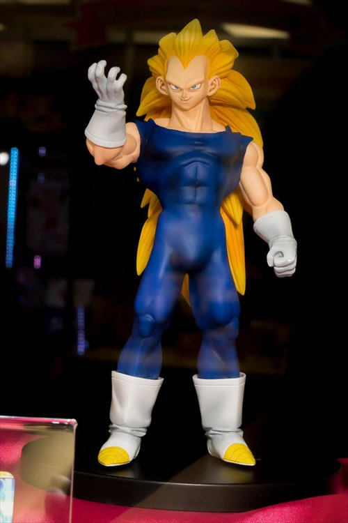 Dragon Ball Z - Super Saiyan 3 Vegeta Dragon Ball Heroes Banpresto Prize Figure