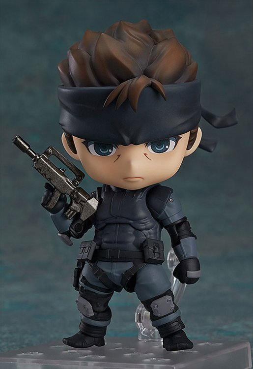 Metal Gear Solid- Solid Snake Nendoroid PVC Figure