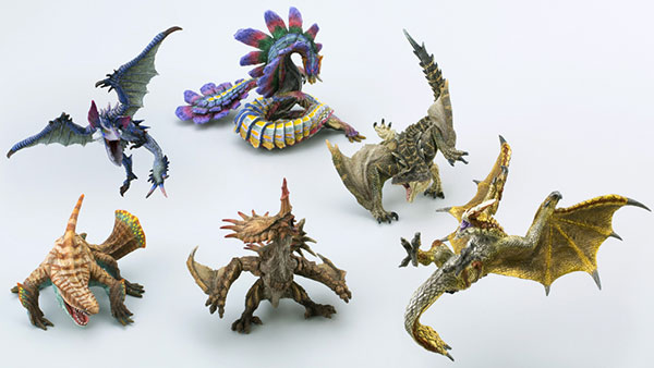 Monster Hunter- Capcom Figure Builder Standard Model Plus Vol. 1 box set of 6
