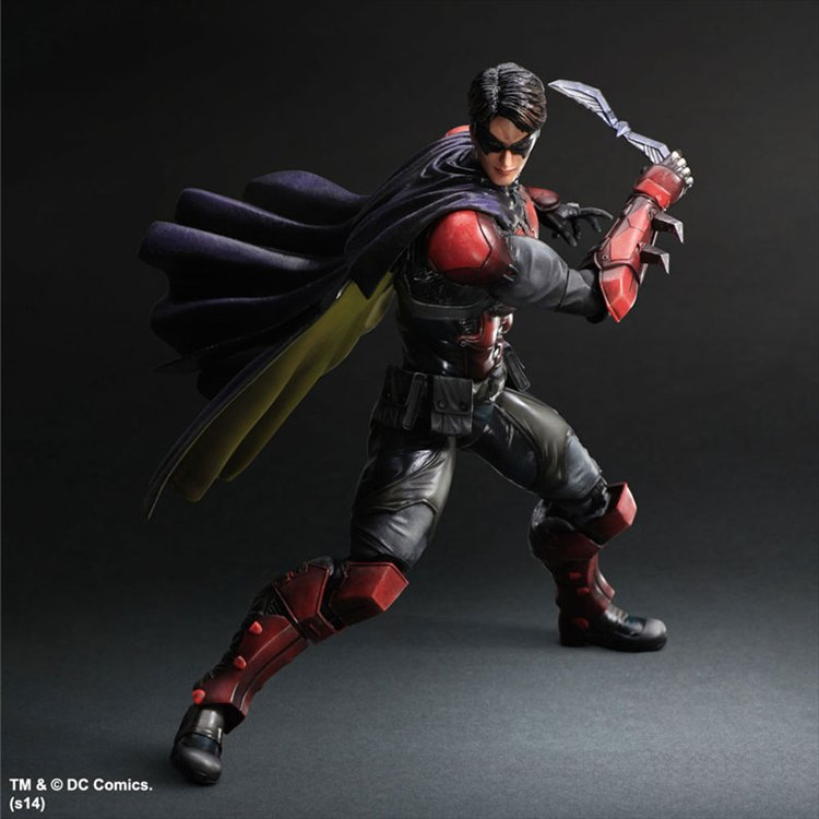 Batman Arkham Origins- Robin Play Arts Kai PVC Figure