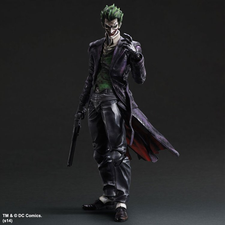 Batman Arkham Origins- Joker Play Arts Kai PVC Figure