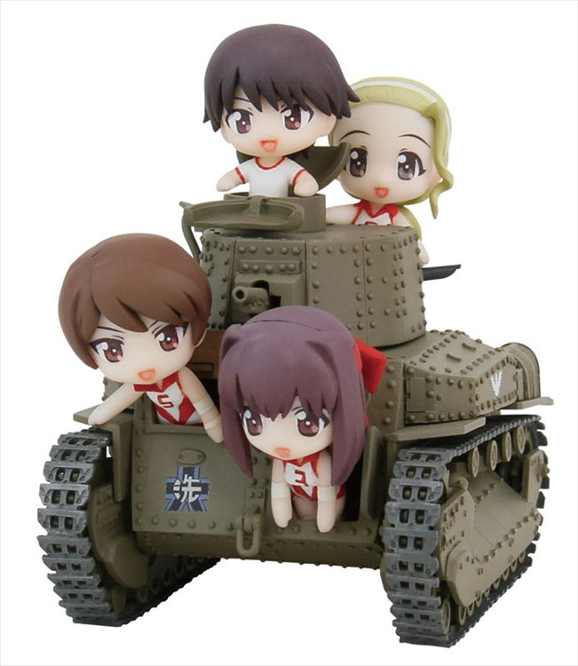 Girls und Panzar- Type 89 Mid. Tank Kou Type Ending Version Complete Figure