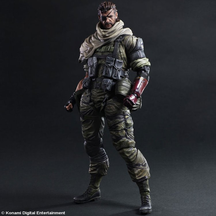Metal Gear Solid 5- Venom Snake Play Arts Kai Action Figure
