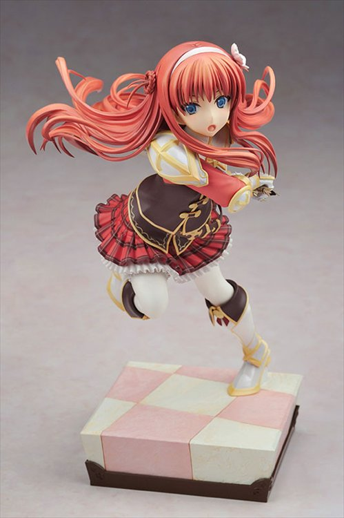 Dungeon Travelers 2 Ouritsu Toshokan to Mamono no Fuuin- 1/8 Alisia Heart PVC Figure
