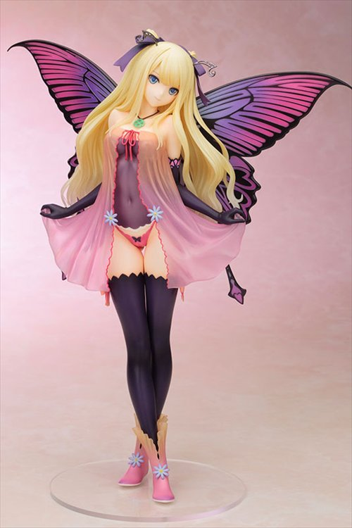 Tonys Heroine Collection 4 Leaves- 1/6 Fairy Garden Anabelle PVC Figure