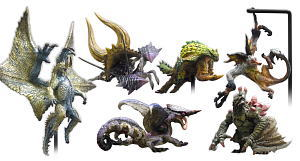 Monster Hunter- Capcom Figure Builder Standard Model Plus Volume 2 Set of 6