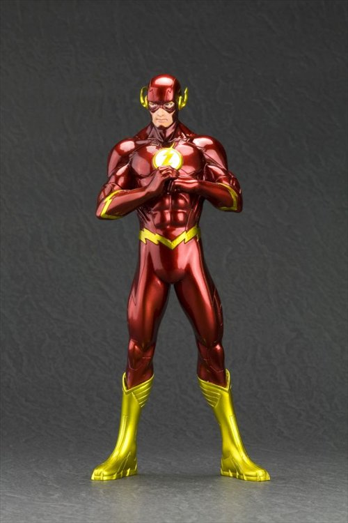 DC Comics- 1/10 The Flash New 52 ArtFx+ Statue Re-Release