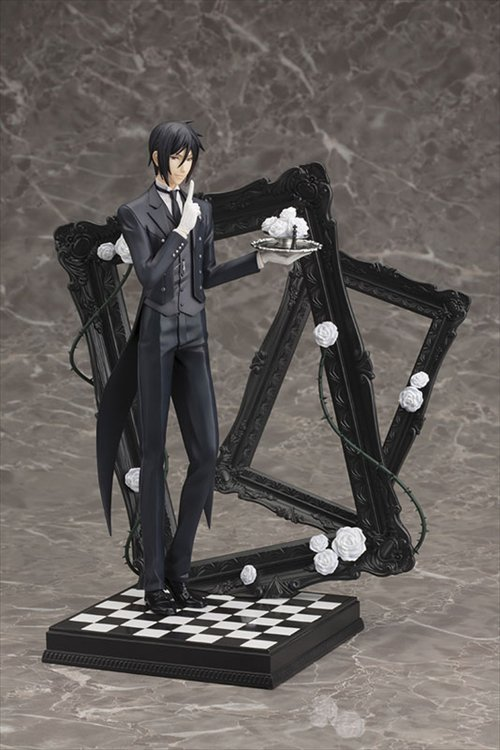 Black Butler Book of Circus- 1/8 Sebastian Michaelis ArtFX J PVC Figure