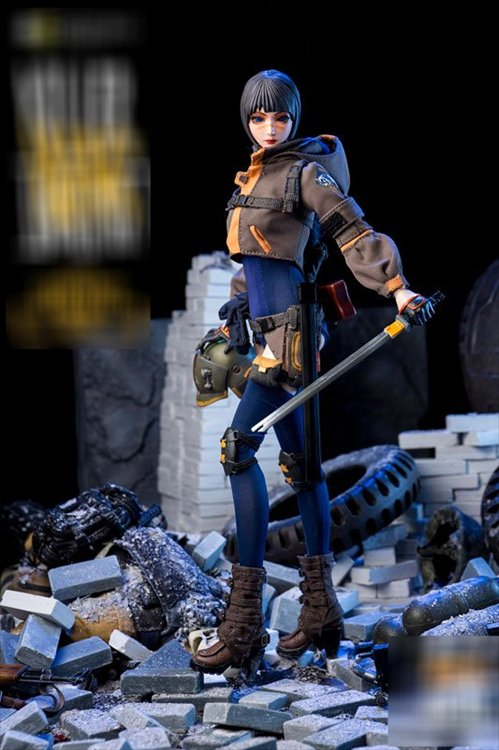 Killer Instinct- 1/6 War Vo.1 Sunny PVC Figure