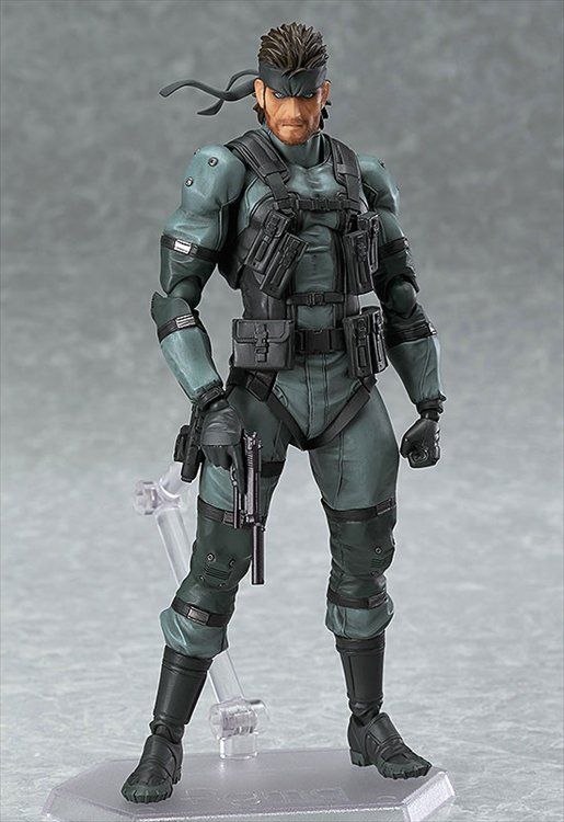 Metal Gear Solid 2 Sons of Liberty- Solid Snake MGS2 Version Figma