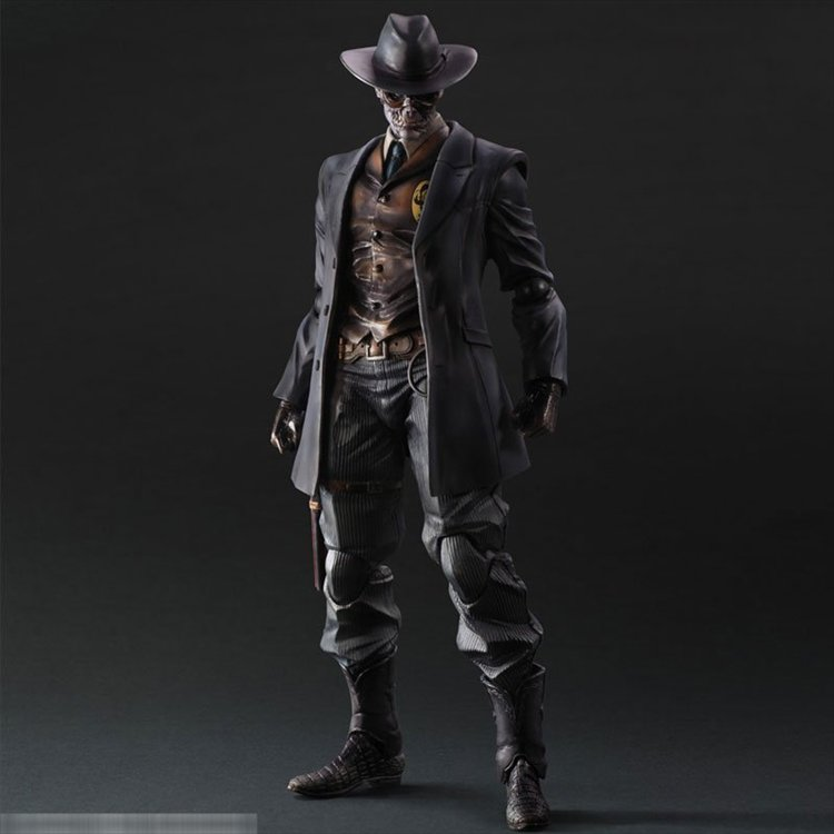 Metal Gear Solid- The Phantom Pain Skull Face Play Arts Kai Figure
